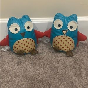 Set of 2 Skip Hop Zoo Otis the Owl bookends